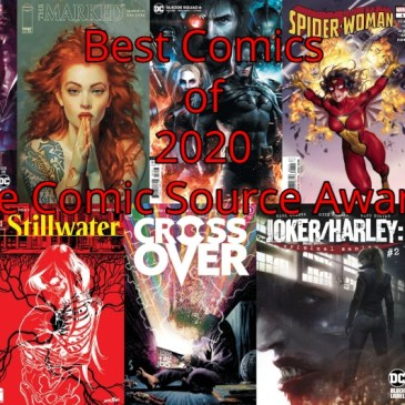 Best Comics of 2020 | The Comic Source Awards Part 2
