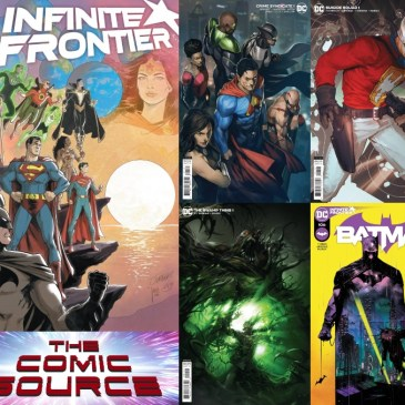 DC Spotlight Friday | March 2, 2021 Releases: The Comic Source Podcast