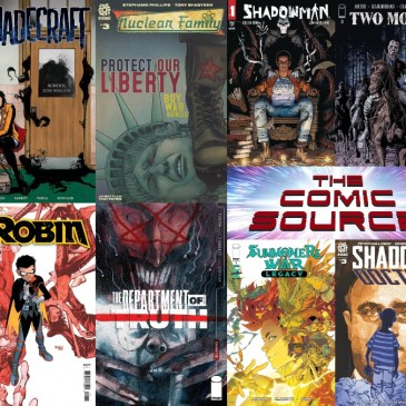 New Comic Wednesday April 28, 2021: The Comic Source Podcast