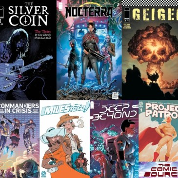 New Comic Wednesday April 7, 2021: The Comic Source Podcast