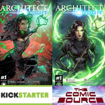 The Architect And The Conduit Kickstarter Spotlight: The Comic Source Podcast