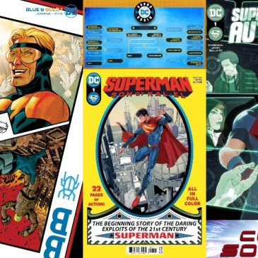 DC BREAKING NEWS! Taylor on Superman; Morrison on Supes/Authority; Jurgens on Blue/Gold & Round Robin Final Four: The Comic Source Podcast