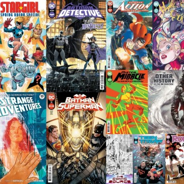 DC Spotlight May 25, 2021 Releases: The Comic Source Podcast