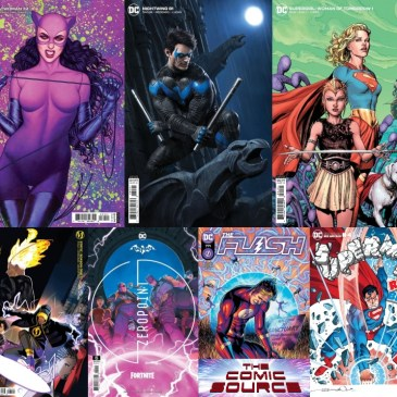 DC Spotlight June 15, 2021 Releases: The Comic Source Podcast