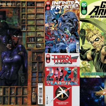 DC Spotlight June 29, 2021 Releases: The Comic Source Podcast