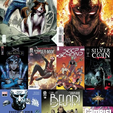 New Comic Wednesday August 11, 2021: The Comic Source Podcast