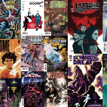 New Comic Wednesday August 18, 2021: The Comic Source Podcast