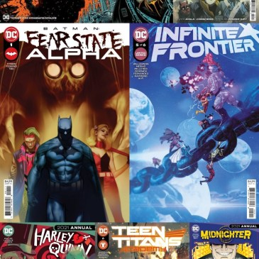 DC Spotlight August 31, 2021 Releases: The Comic Source Podcast