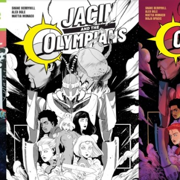 Jacin and the Olympians | Kickstarter Spotlight with Shane Berryhill: The Comic Source Podcast