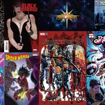 New Comic Wednesday – Marvel | September 15, 2021: The Comic Source Podcast