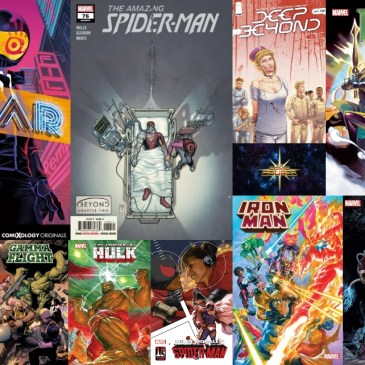 New Comic Wednesday October 13, 2021: The Comic Source Podcast