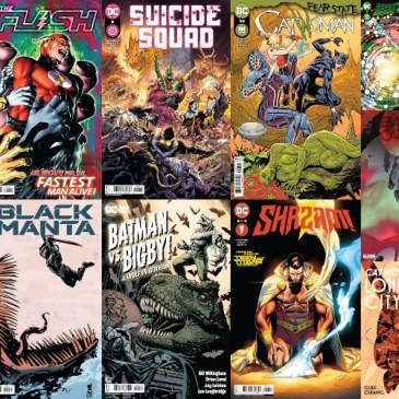 DC Spotlight October 19, 2021 Releases: The Comic Source Podcast