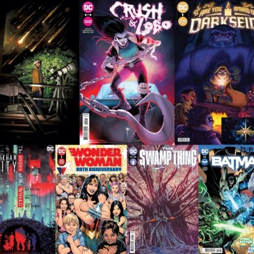 DC Spotlight October 5, 2021 Releases: The Comic Source Podcast