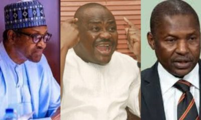 Buhari, Wike and Malami