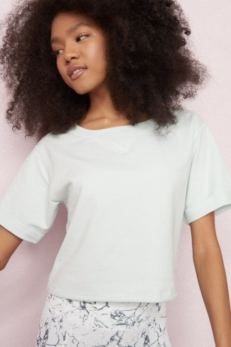 Cropped Sweatshirt Tee from Garage for $15.00