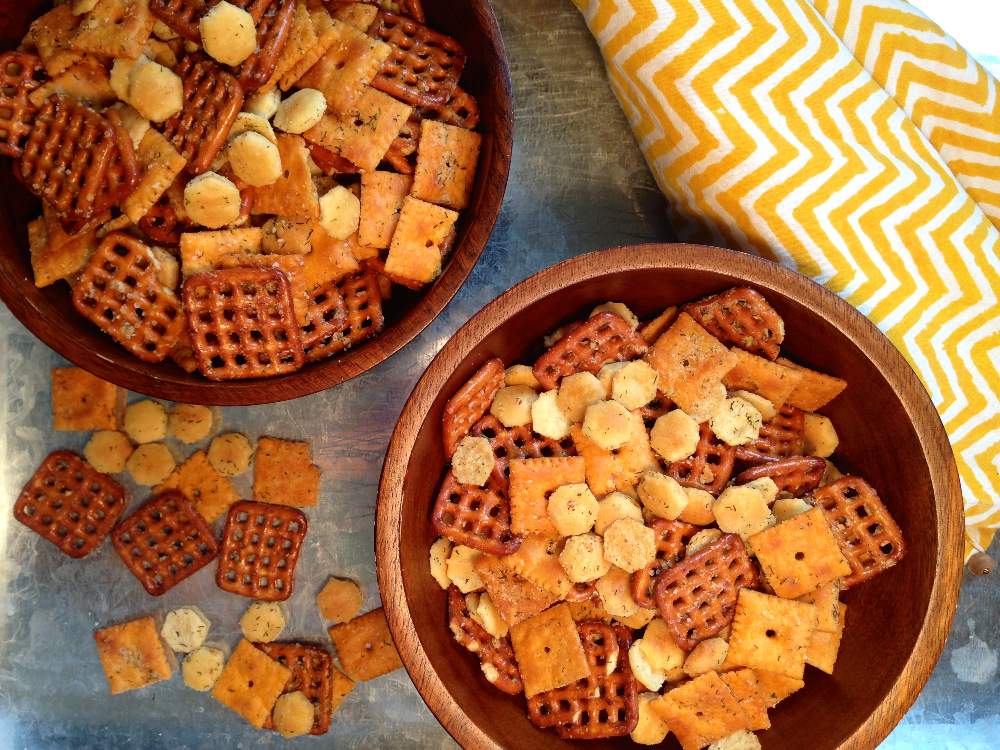 Ranch Snack Mix With Oyster Crackers The Common Plate