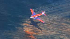 Spraying deadly Corexit in the Gulf