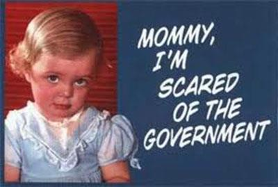 mommy i am scared of government