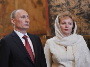 The former Mrs. Putin, pictured here, is lucky to be alive. Most don't leave the Russian Mafia and live to tell about it.