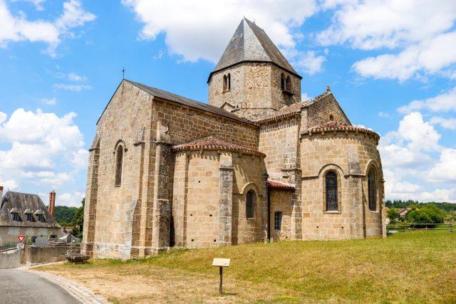 Malval en Creuse, ruines du château
