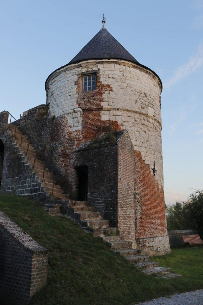 la forteresse de Montreuil sur mer