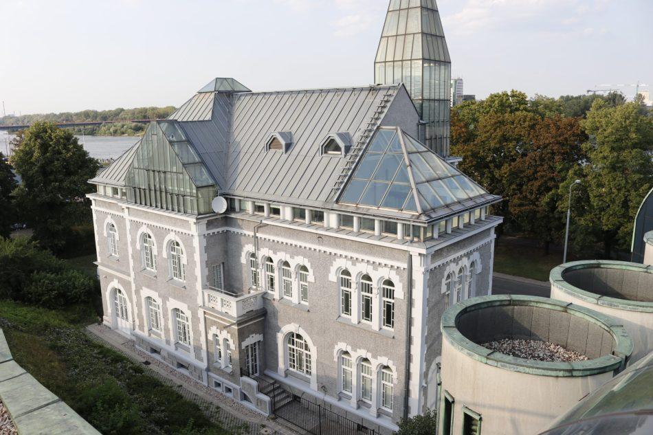 Toit Jardin Université Vasovie
