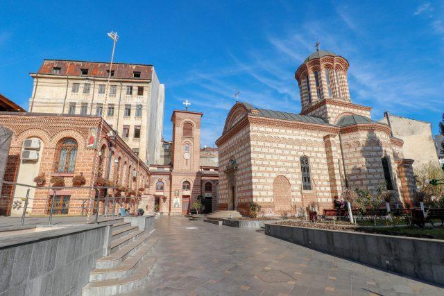 L'église Curtea Veche