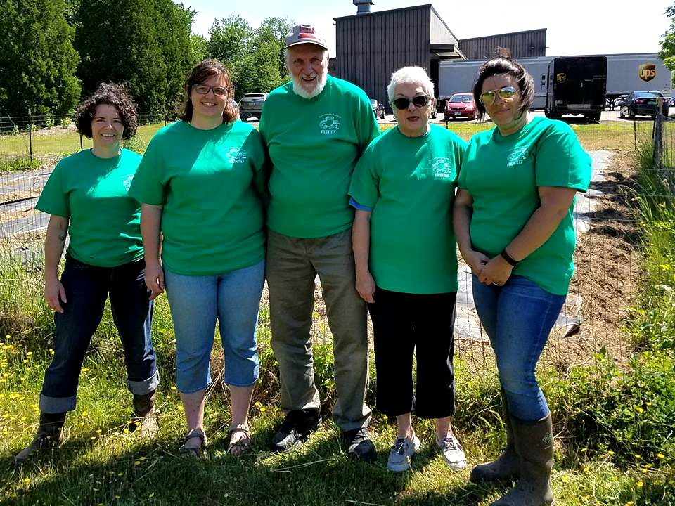TCK's Glean Team in their Tees ready to get to work.