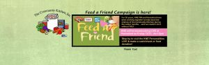 Feed A Friend Campaign at Hannaford and KNW-FM