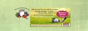 28th Annual Charity Golf Tournament Header