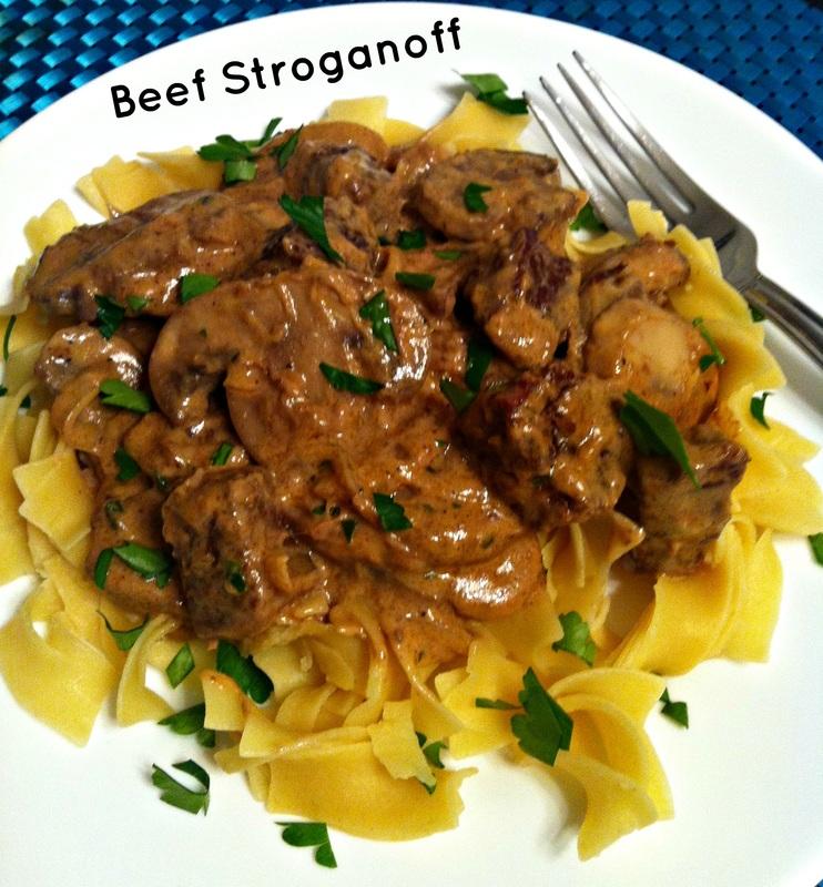 Original photo for Beef Stroganoff ~ The Complete Savorist