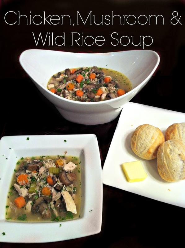 Chicken, Mushroom, and Wild Rice Soup ~ The Complete Savorist