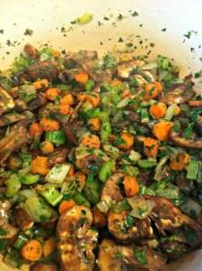 Vegetables for Classic Herbed Chicken n' Dumplings ~ The Complete Savorist