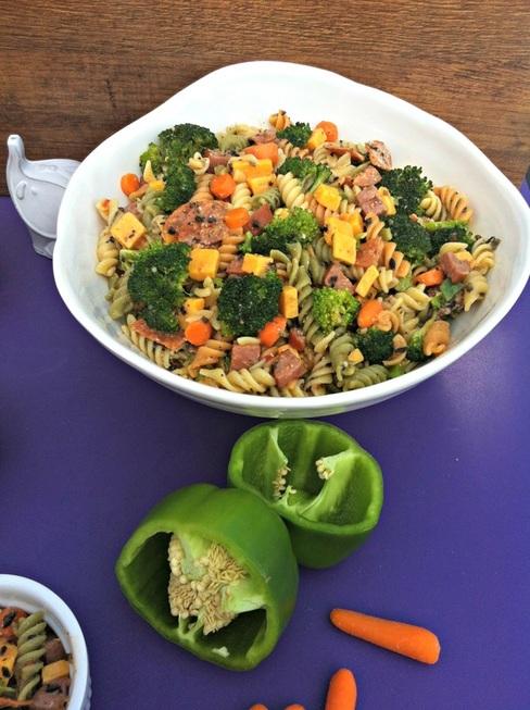 Jenn's Pasta Salad ~ The Complete Savorist