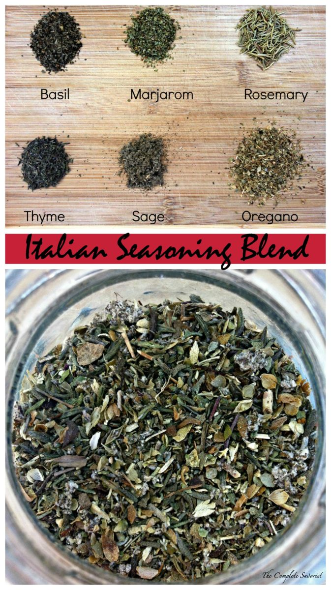 Italian Seasoning Blend ~ One of the most reached for blends and can easily be made at home with items in your cabinet or spice rack.