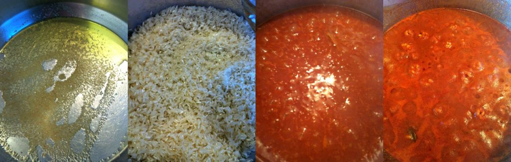 Steps to making Spanish Rice ~ The Complete Savorist