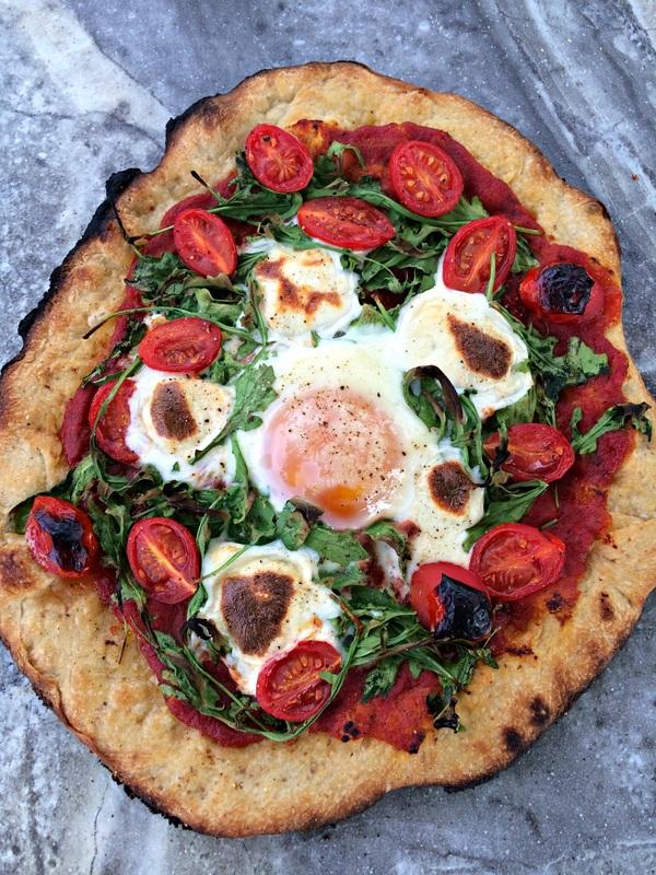 Tomato and Arugula Pizza ~ The Complete Savorist