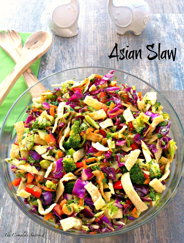 Asian Slaw ~ The Complete Savorist