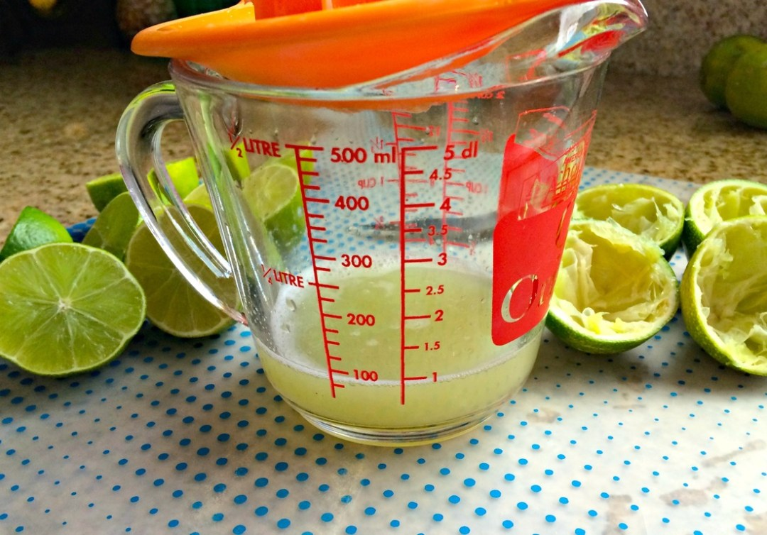 Juicing the Limes ~ The Complete Savorist