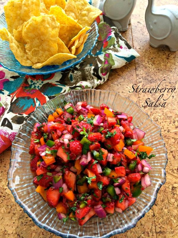 Strawberry Salsa ~ The Complete Savorist