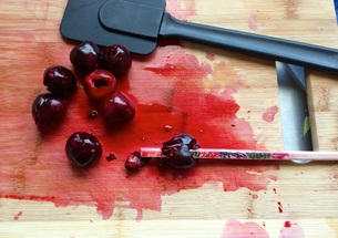 Pitting the Cherries ~ The Complete Savorist