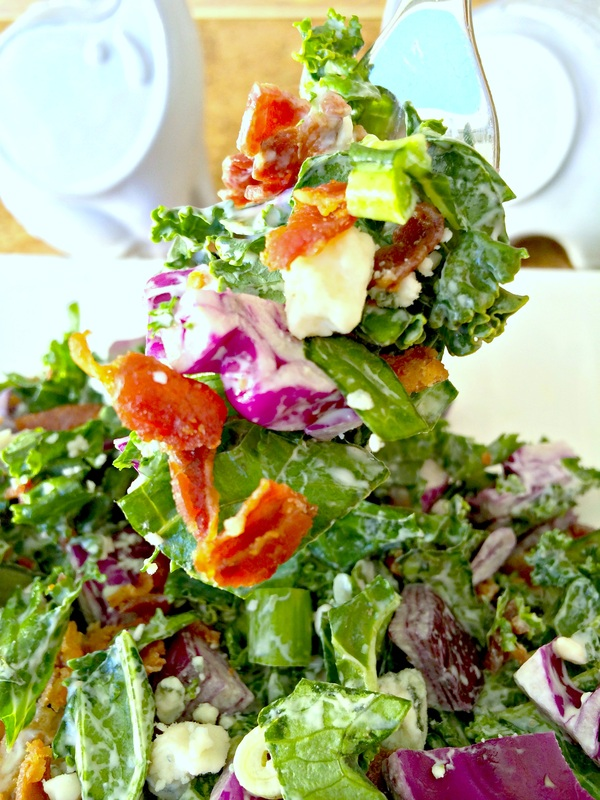 Chopped Kale Salad ~ The Complete Savorist