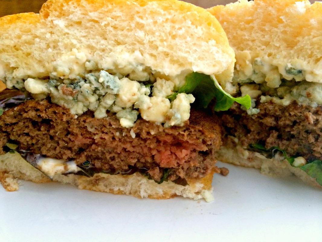 Buffalo'd Bison Burgers ~ The Complete Savorist