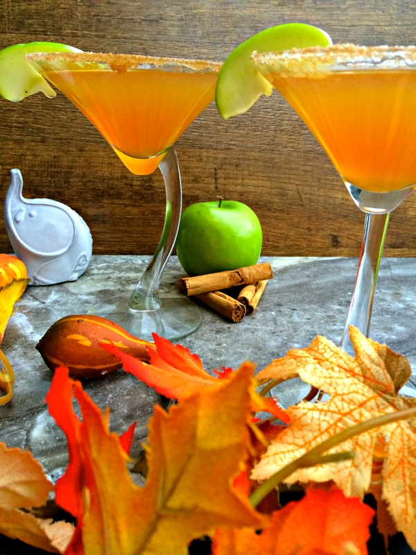 Cinnamon Apple-tini ~ The Complete Savorist