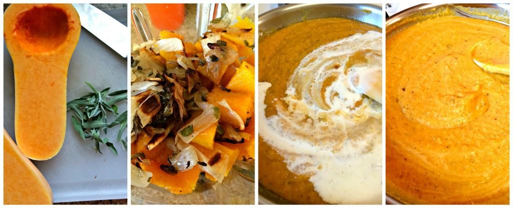Step to Fettuccine in a Creamy Butternut Sage Sauce ~ The Complete Savorist