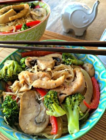 Miso Chicken Stir Fry ~ The Complete Savorist