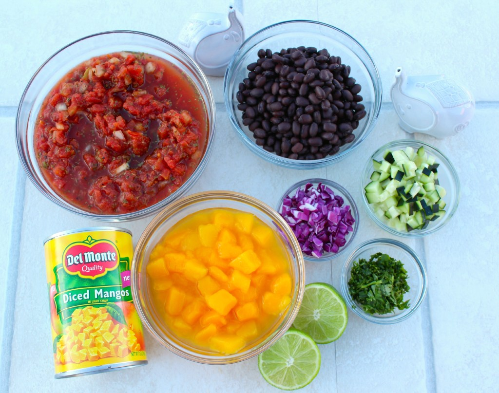 Ingredients to make Quick Mango Salsa