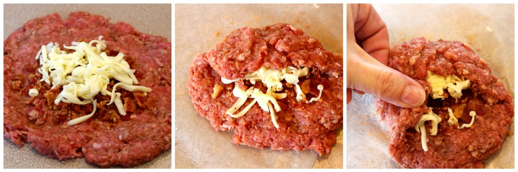 Bacon & Havarti Stuffed Barbecue Burgers ~ The Complete Savorist #Evergriller #sponsored