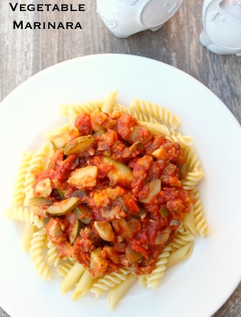Vegetable Marinara ~ The Complete Savorist