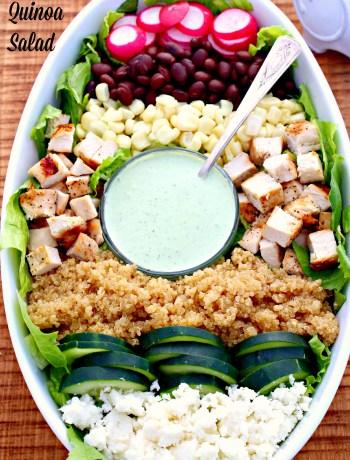 Chicken & Quinoa Salad ~ The Complete Savorist